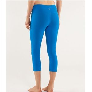 Lululemon Wunder Under Crop Reversible